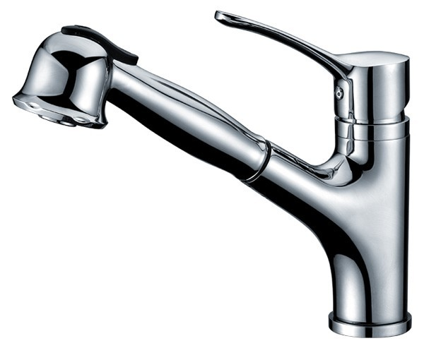 kitchen-sink-faucet-chrome-finish-pull-out-spray-brass-ceramic-disc-ab50-3712c